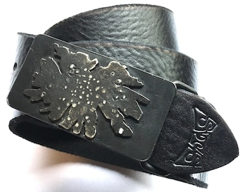belt buckle - handmade - abstract pattern - steel - iron - gift for husband -