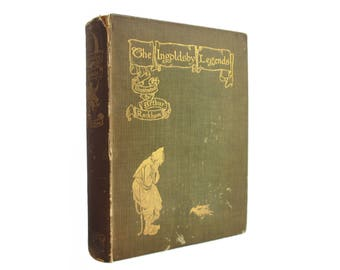 The Ingolsby Legends, or Mirth and Marvels - Ingolsby's 1907 collection of fairy tales, illustrations by Rackham - Free US Shipping