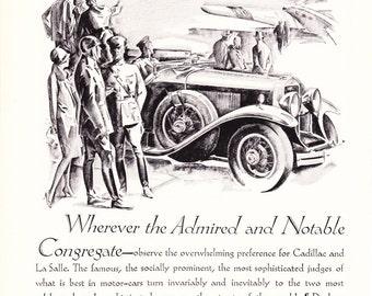 luxury car ad