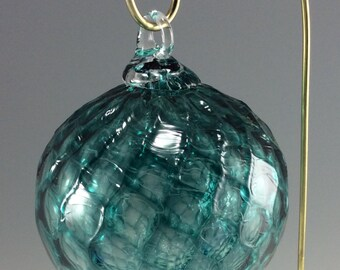 Glass ornament - Dark aqua
