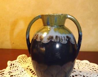 Vintage Belgium Art Pottery Vase