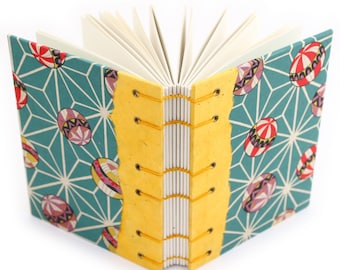 Unlined Journal with Japanese paper - handmade by Ruth Bleakley