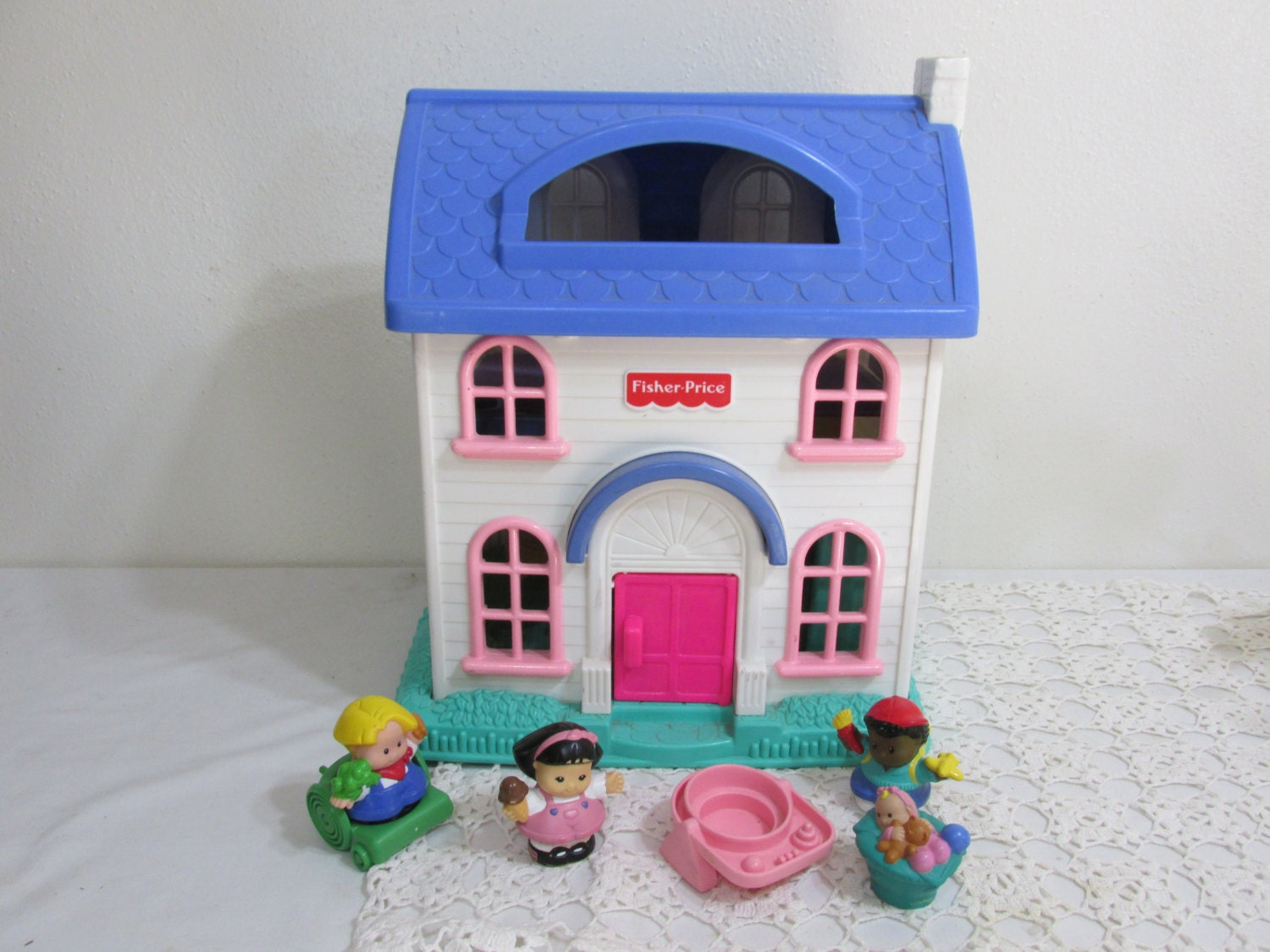 Fisher Price Little People Doll House Home Sweet Home 1996