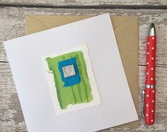 ceramic card, greetings card, wedding, birthday, anniversary, Mother's Day, christmas,
