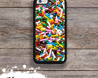 iPhone 7 or 7 PLUS Rainbow Sprinkles Candy Phone Case