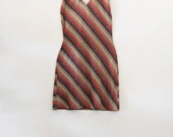80's Striped Mini Dress