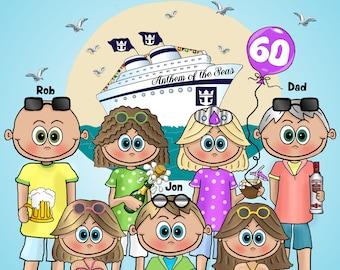 Carnival Cruise Shirts, Royal Caribbean Cruise Shirts, Family Cruise Shirts, Matching Cruise Shirts, Cabin Door Magnets, Room Door Magnets