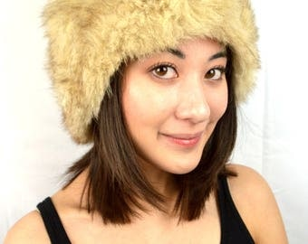 Vintage Fur Winter Hat