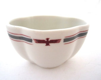 AMERICAN PRESIDENT LINE Eagle I Pattern Maritime Shipboard Dining Restaurant Ware China 1940s 50s