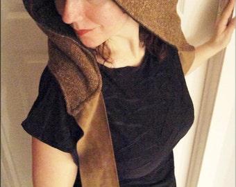 Hood - Burning Man - Playa Wear - Clothing Accessory - Gypsy Boheme - Neck Scarf - Winter Fashion - Sexy - ONE SIZE