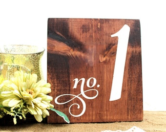 Wedding Table Numbers Wooden, Wood Table Numbers, Rustic Wedding Signs, Wood Table Decor, Rustic Table Numbers, Wedding Reception, Wood Sign