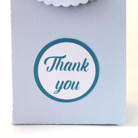 Thank You, Wedding Stickers, Wedding Favor Stickers, Wedding Favor Labels