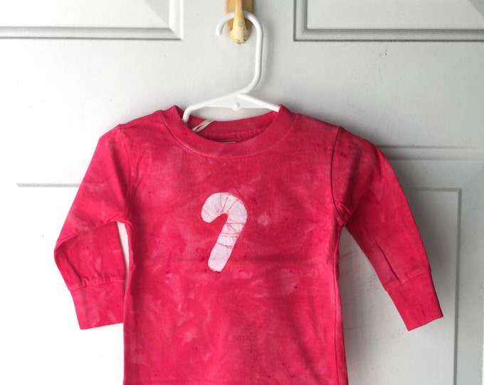 Featured listing image: Baby Christmas Shirt, Candy Cane Shirt, Christmas Baby Shirt, Red Candy Cane Shirt, Baby Boy Christmas, Baby Girl Christmas (18 months) SALE