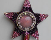 Unconditional, star, ooak, Cerridwen, Hecate, Frigg, Demeter, love, Gaia, fertility, healing, chakra, wiccan, Spring, Aphrodite, pink, spell