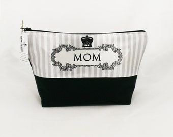 Mom Toiletry Bag mother gift from son mom gift for mother gift for mom bridal shower dopp kit wedding party gifts mother of the bride makeup