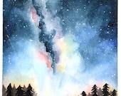 Galaxy Love Card