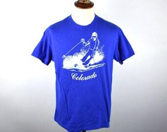 1970's Ski COLORADO T-Shirt, Soft and Comfy