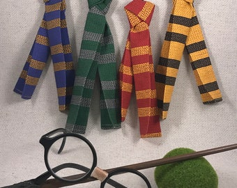 Wizard Scarves, Removable Pet Scarf, Magic School, Geeky