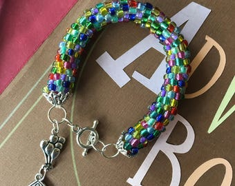 Up Inspired Beaded Bracelet with Charm Made to Order Disney Pixar Cosplay Disneybound