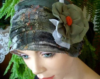 womens hat  mesh chemo hat med  lightweight  chemo headcover chemotherapy