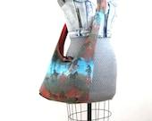 Across the Body Bag - Turquoise Bag for Women - Horse Bag - Best Crossbody Bag for Travel - Hobo Shoulder Bag - Vegan Handbag - Hobo Purse