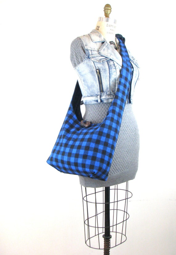 Crossbody Hobo Bag - Slouch Bag - Crossbody Bag for Women - Vegan Bag - Hobo Purse - Hippie Bag - Boho Bag - Hobo Shoulder Bag - Vegan Purse