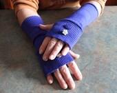 OOAK Handcrafted Ladies Fingerless Gloves