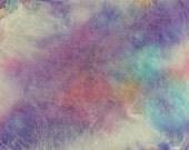 Silk Hankies - Mawata - 1/2 oz dyed - Peony
