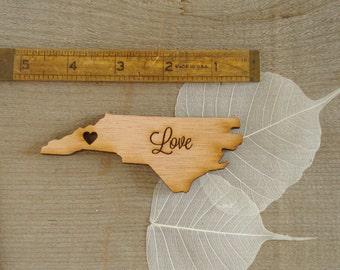 60 North Carolina State Wedding Favors Custom Engraved