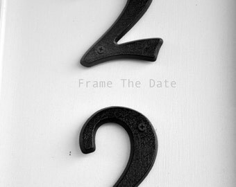 Photo of 22, Number 22  Photograph, Individual 4x6 Number Photo, Wedding Date Print (22) Vertical Print