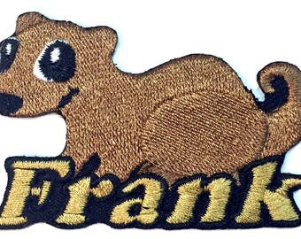 Iron on Patch Ferret Name Personalized Free