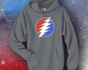 Dead and Company Screen Printed Hoodie