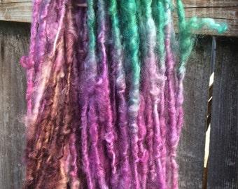 HANDSPUN Cotswold Wool Natural Lock Spun Thick and Thin Bulky YARN