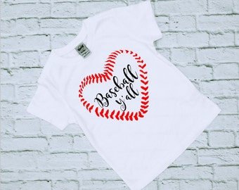 Baseball Shirts - Baseball - Baseball Tee - It's Baseball Y'all - Sports Shirts - Gift for her - Birthday Gift - Love Baseball Shirt - Ball