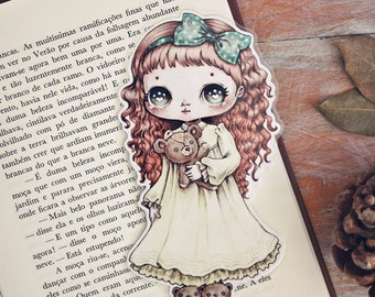 Little hugs - bookmark - made to order