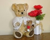 Deans Gwentoy Bear  Vintage Teddy Bear  Bear With Bells in Ears