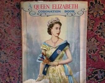 The Queen Elizabeth Coronation Book 1953 By Neil Ferrier