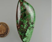 Conichalcite Cabochon, Conichalcite Green Cab, Conichalcite, Designer Cabochon, Jewelry Supplies, Craft Supplies, Gift, #C1296, 49erMinerals