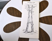 1950s NOS Tree Anniversary Card with Envelope