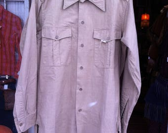1960 Kaki French Army Shirt