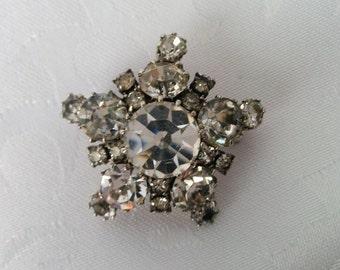 Vintage Karu Arke Inc. Austrian Crystal Brooch