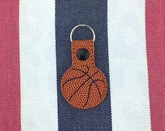 Basketball Snaptab - sport ball style keychain