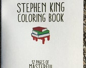 Stephen King Coloring Book
