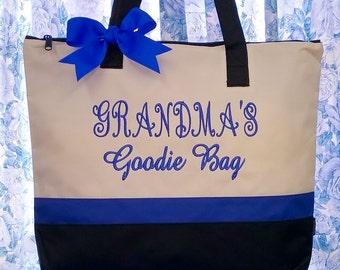 Personalized Tote Bag Grandma's Goodies