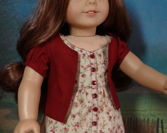 Sundress and jacket for American Girl or similar 18 inch doll