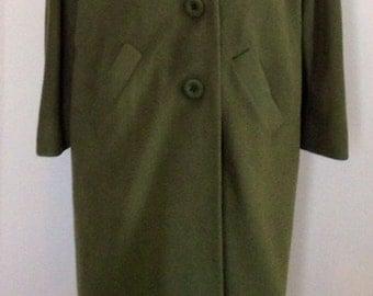 Women's 100 percent Cashmere 1960's coat