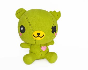Ready to ship! BIG ZomBear plushie , zombie bear kawaii plush toy