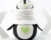 New Sock Doll Penguin Pattern by Sewinthemoment