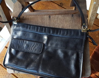 THIN   ///    70s Slim Leather Bag