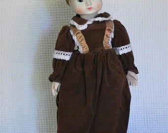 unmarked porcelain doll